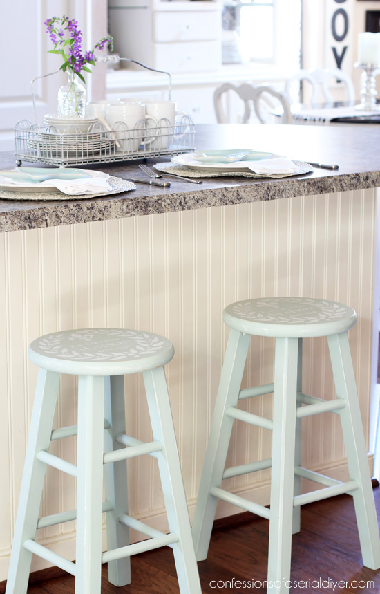 Painted Bar Stools Confessions Of A Serial Do It Yourselfer