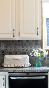 DIY Toaster Oven Cover from Drop Cloth