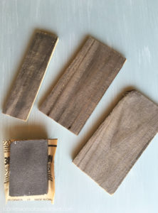 How to make a reclaimed wood tray from an old frame and fence pickets. confessionsofaserialdiyer.com
