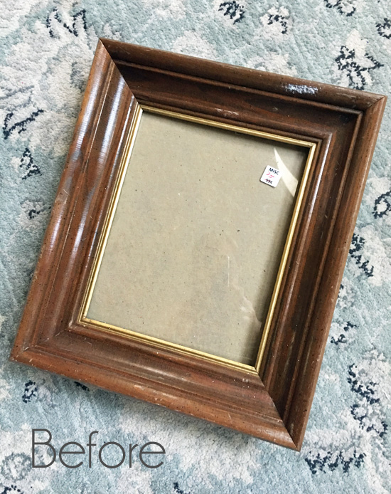 How to Make a Tray from a Frame {My Best Selling Tray ...