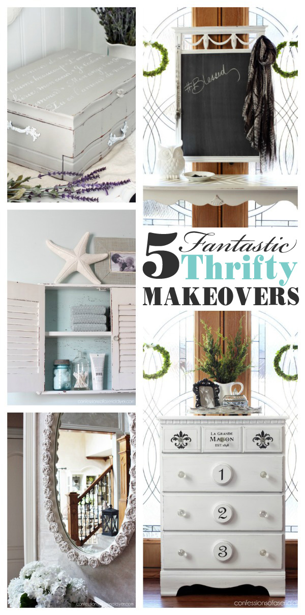 Five fantastic thrifty makeovers from confessionsofaserialdiyer.com