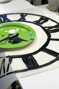 Stencils are a great way to add character to a piece!