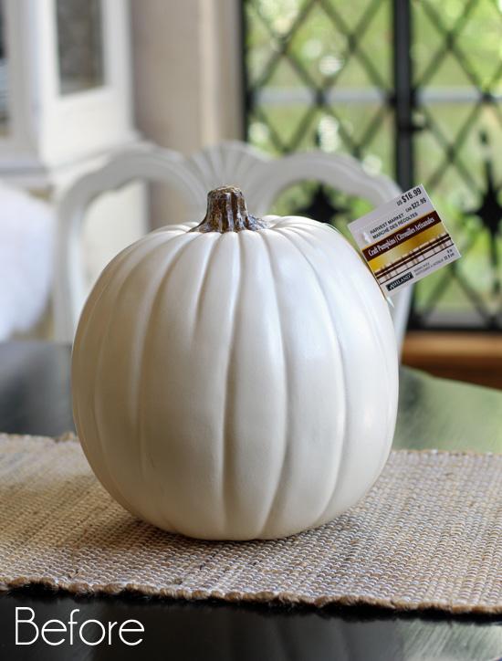 Crafting-Pumpkin-Before