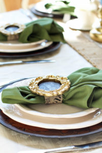 DIY napkin holder/place cards from confessionsofaserialdiyer.com