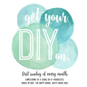 Get Your DIY On party button