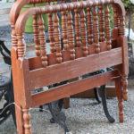 DIY Spindle Headboard Bench