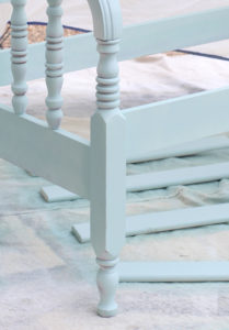 How to make a headboard bench from confessionsofaserialdiyer.com
