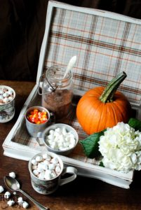Flatware Storage Box to Hot Chocolate Station from Hunt and Host