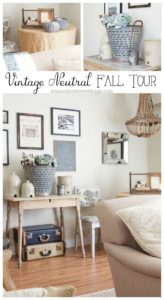 Vintage Neutral Fall Tour from So Much Better with Age