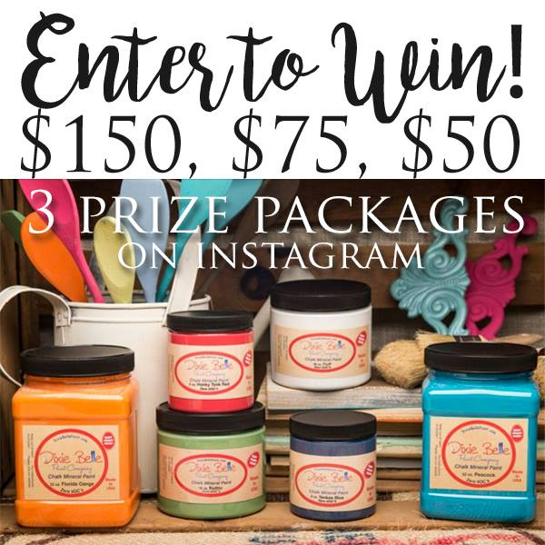 Dixie Belle Paint Instagram Giveaway