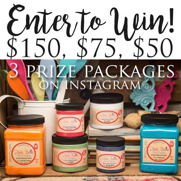 Dixie Belle Paint Instagram Giveaway