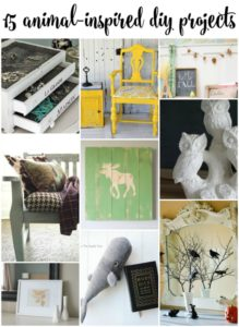 15 Creative Animal-Inspired DIY Projects