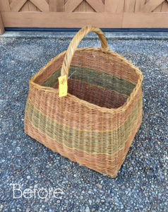 Thrift Store Basket Update