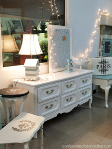 And that French Provincial End Table:
