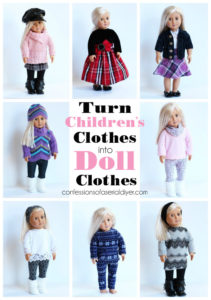 Turn Old Children's Clothes into Doll Clothes