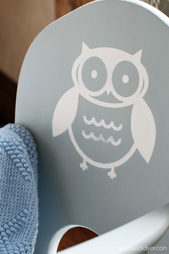 Owl from the sihouette store.