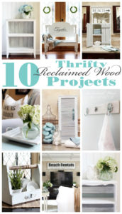 10 Thrifty Reclaimed Wood Projects