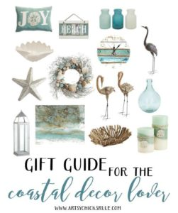 Coastal Gift Guide from Artsy Chicks Rule