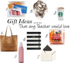 Gift Ideas for Teachers from Duke Manor Farm