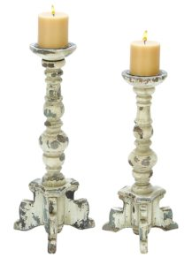 Shabby Chic candlesticks from Amazon