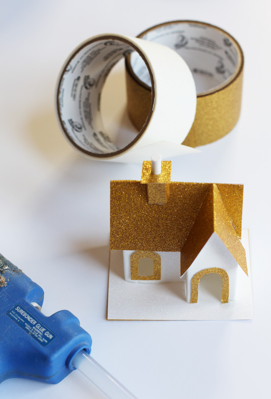 How to make duct tape houses