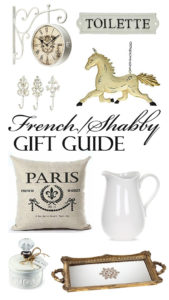 French/Shabby Chic Décor Lover's Gift Guide