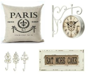 Shabby Chic/French Inspired Home Decor Gift Guide
