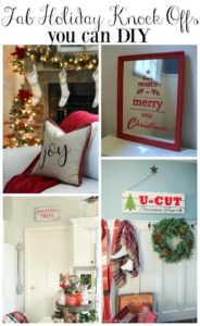 Get Your DIY On: Knock-Off Holiday Decor