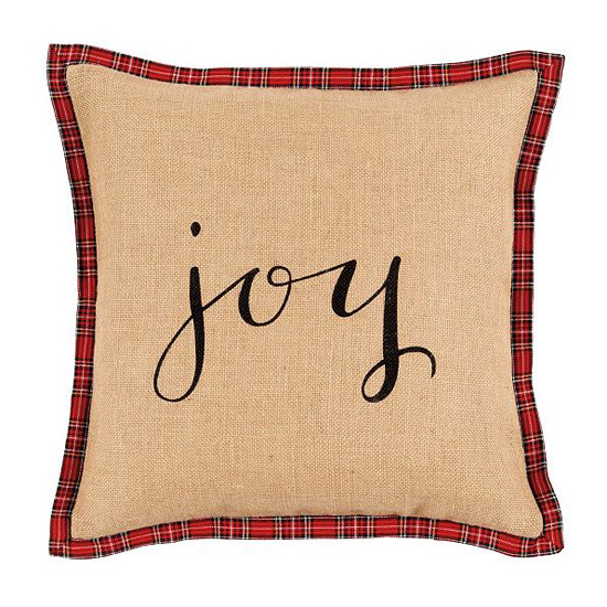 Ballard Holiday Script Pillow