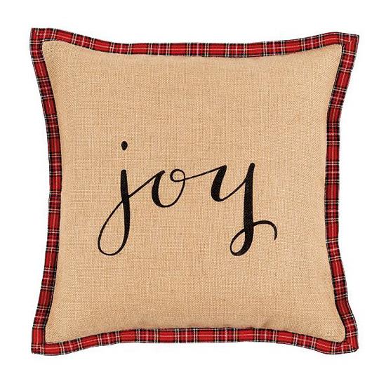 Ballard Holiday Script Pillow