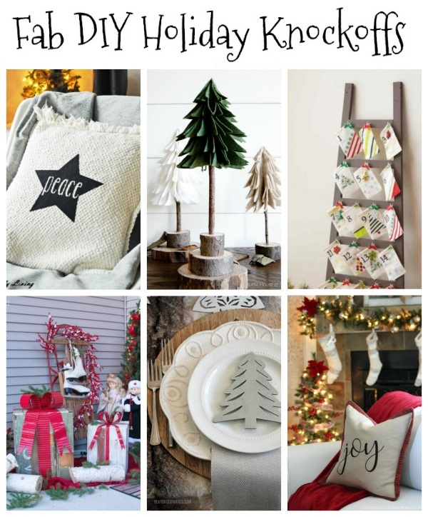 Fabulous DIY Holiday Knock-Off Ideas