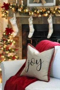 Ballard-Inspired Holiday Pillow