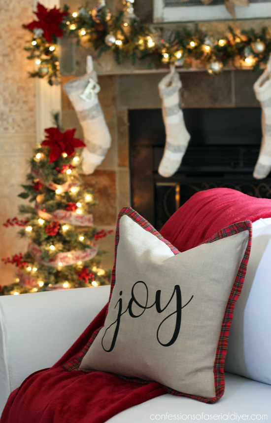 Ballard-Inspired Holiday Pillow