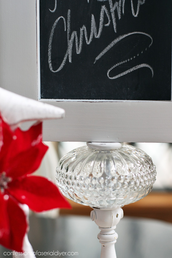 Turn a small lamp into a mini message board!