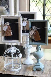 Turn old lamps into memo boards!