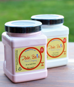 DIxie Belle Paint in Soft White and Fluff
