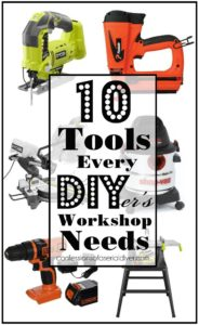 10 Tools every DIYer should have in their workshop