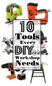 10 Essential Workshop Tools