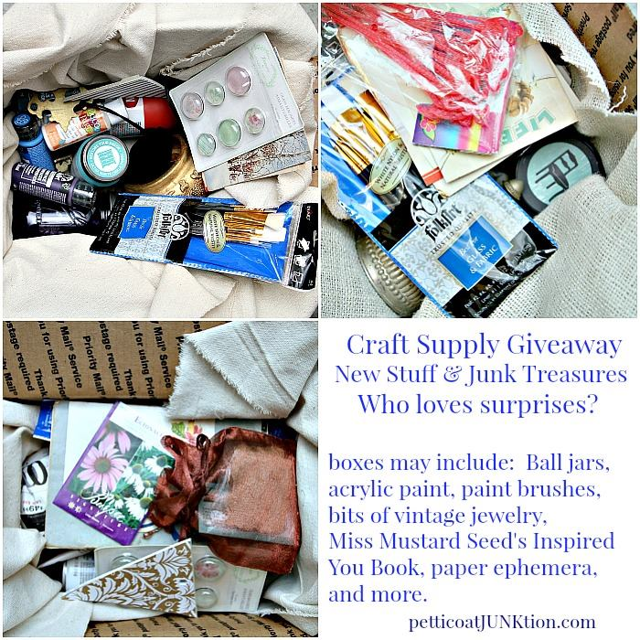 Craft Junk Giveaway from Petticoat Junktion
