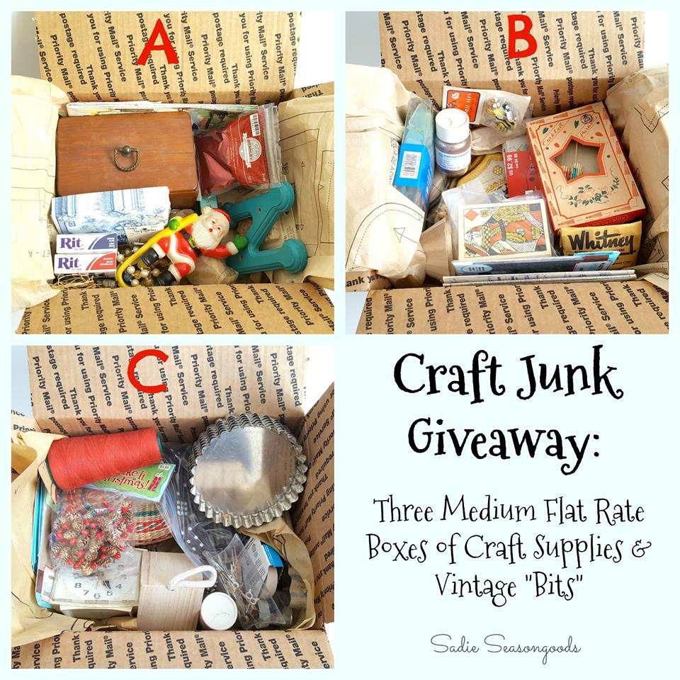 Craft Junk Giveaway from Sadie Seasongoods