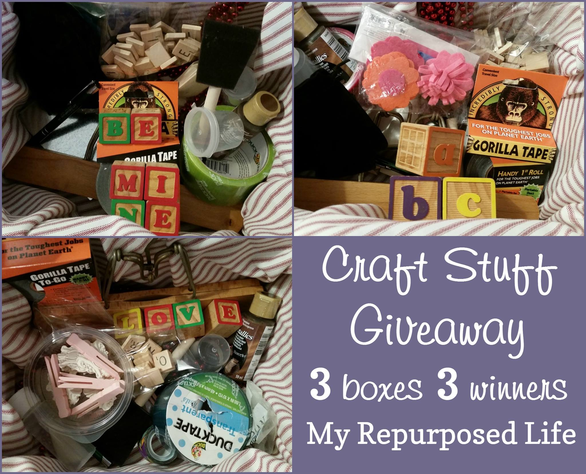 Craft Junk Giveaway from My Repurposed Life