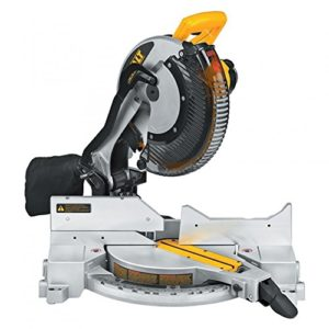 Dewault compound miter saw