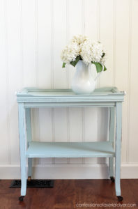 99¢ Thrift Store Table Makeover from confessionsofaserialdiyer.com