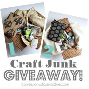 Craft Junk Giveaway!!