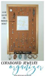 DIY Jewelry Organizer from Artsy Chicks Rule