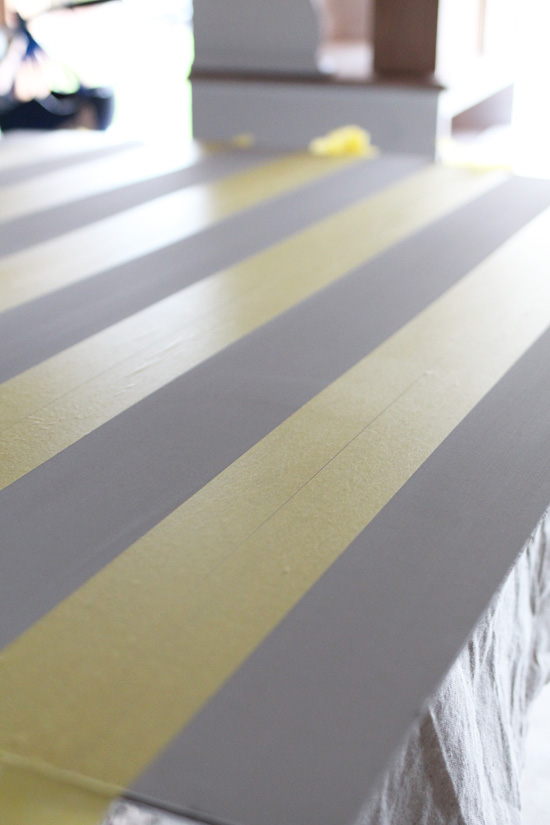 FrogTape for delicate surfaces is my favorite for getting crisp clean lines!