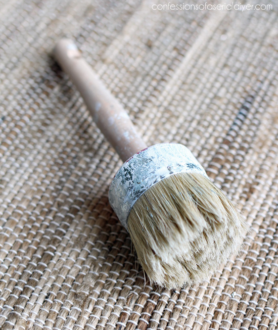 AMy Howard wax brush paint brush