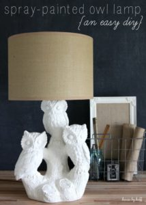 A Spray Painted Lamp from House by Hoff