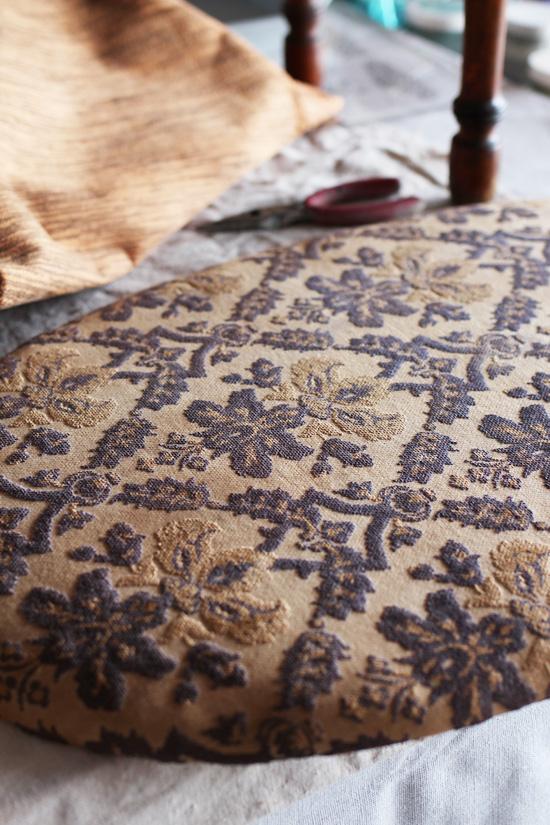 Upholstered-Vanity-Stool-during