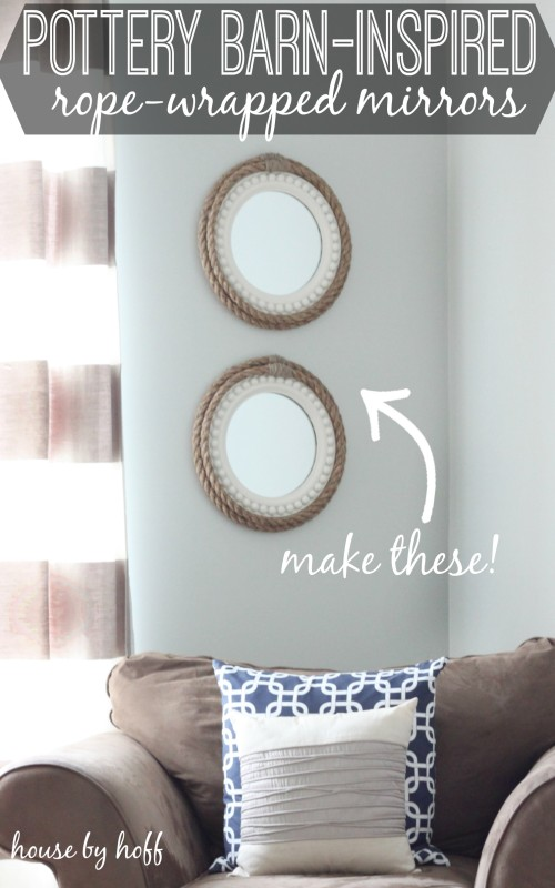 Rope Mirrors Inspired by PB from House by Hoff
